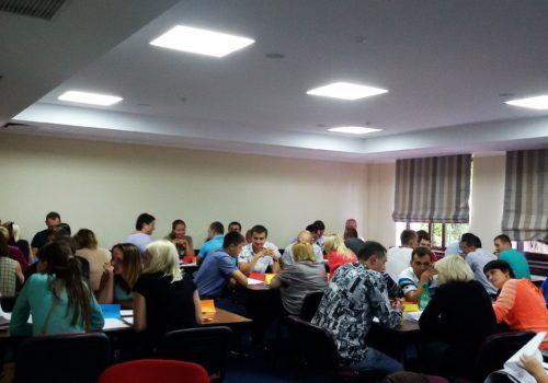 Бизнес-игра для руководителей. Управление в условиях ограниченных ресурсов. 13.09
