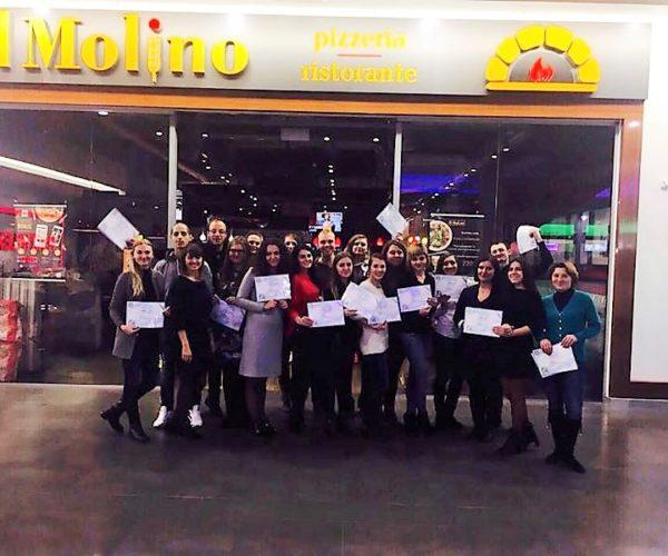1. Тренинг по управлению для директоров сети пиццерий Иль Молино