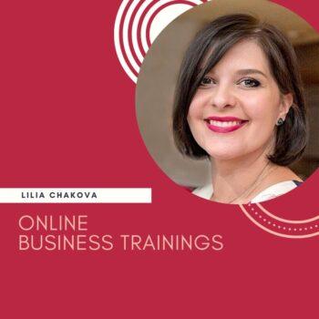 Online тренінги Лілії Чакової. Корпоративний та відкритий формат